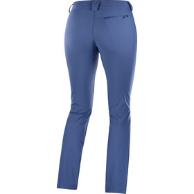 Salomon Wayfarer Straight LT Pantalones Mujer, dark denim